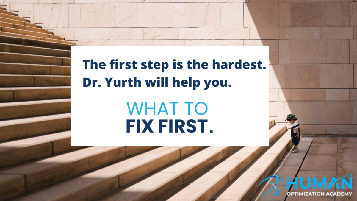 What to Fix First